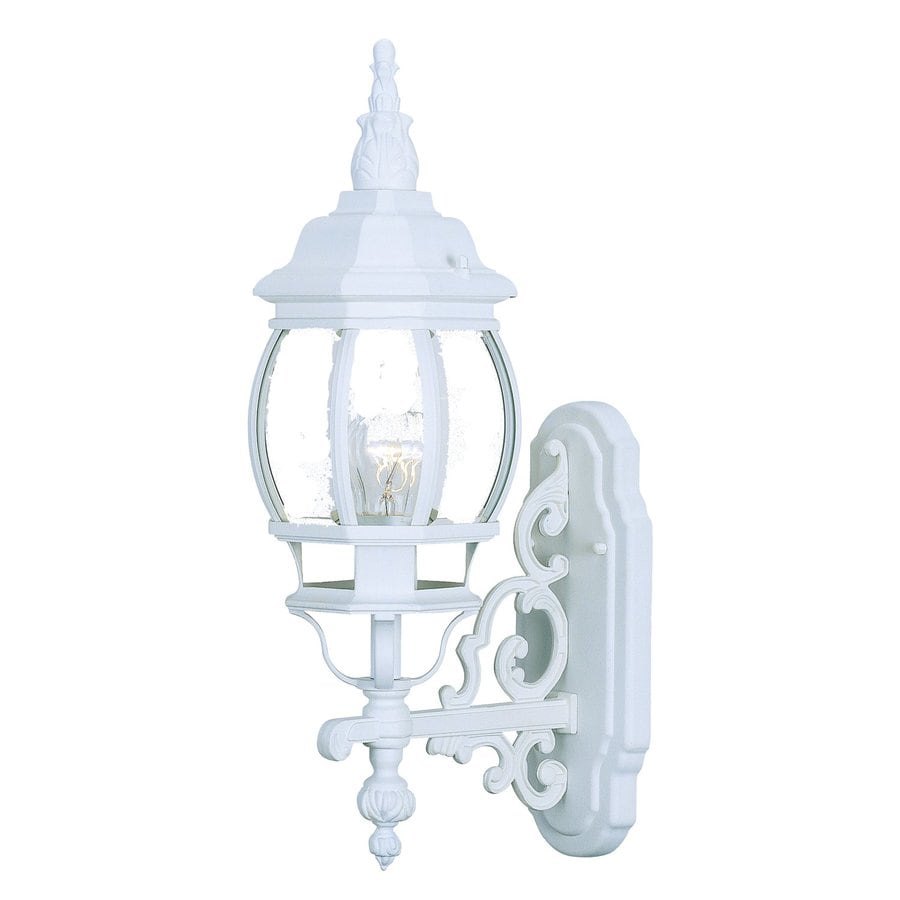 Acclaim Lighting Chateau 20-in H Textured White Outdoor Wall Light