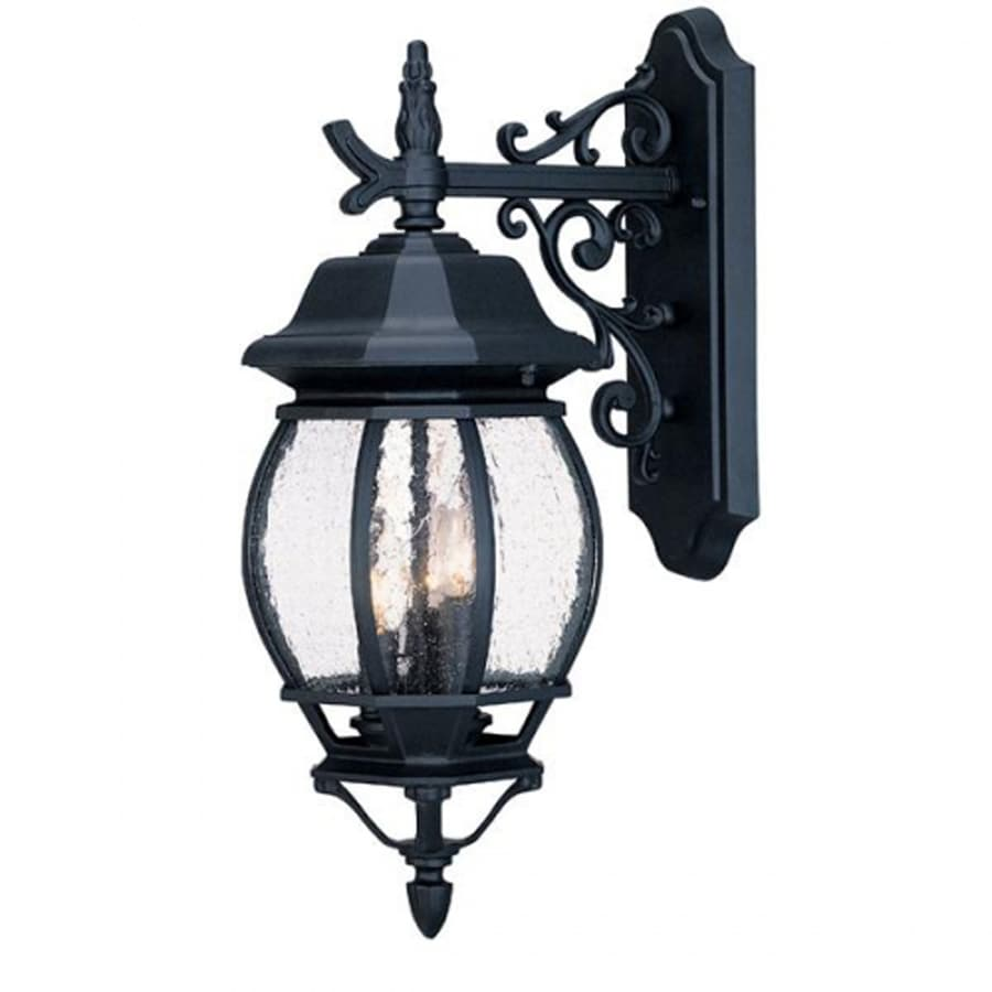 Acclaim Lighting Chateau 18.75-in H Matte Black Outdoor Wall Light