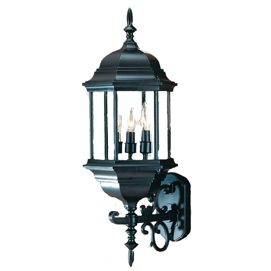 Acclaim Lighting Madison 24.75-in H Matte Black Outdoor Wall Light