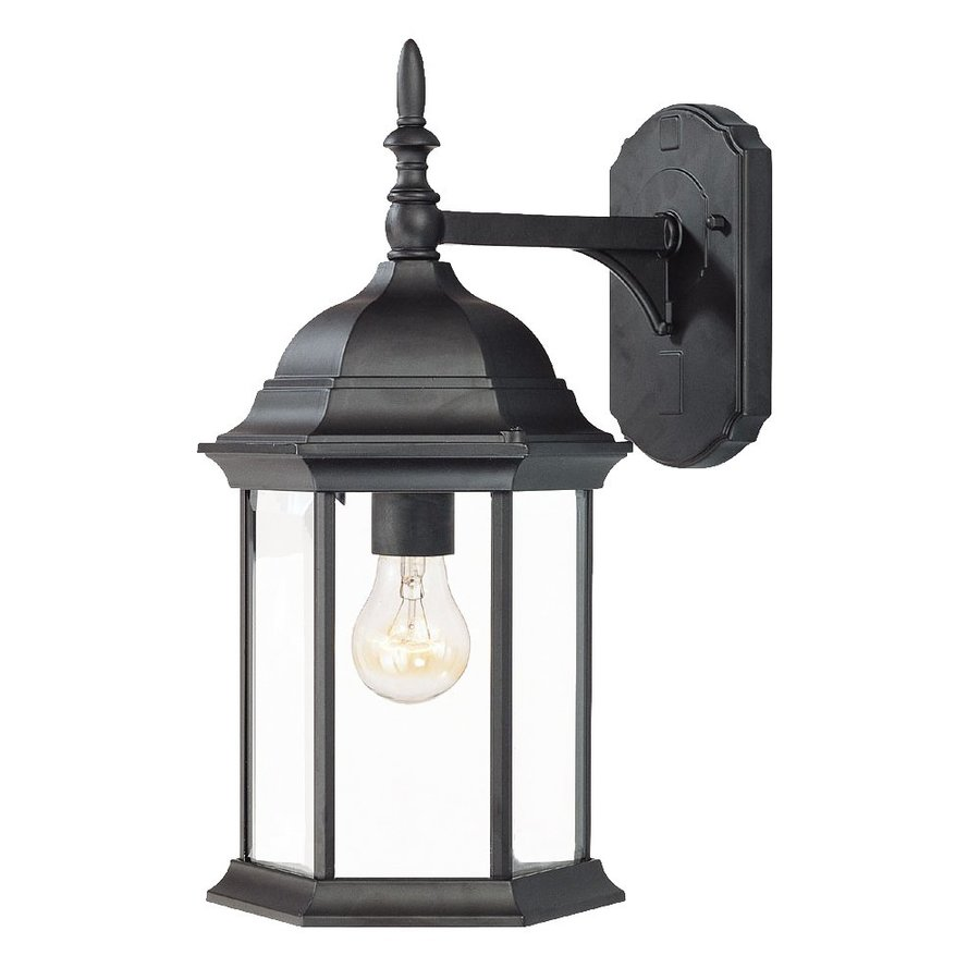 Acclaim Lighting Craftsman 16.5-in H Matte Black Outdoor Wall Light