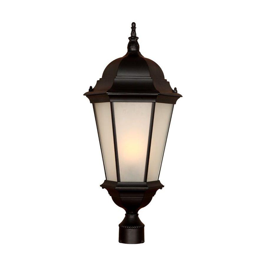 Acclaim Lighting Richmond 27-in H Matte Black Post Light
