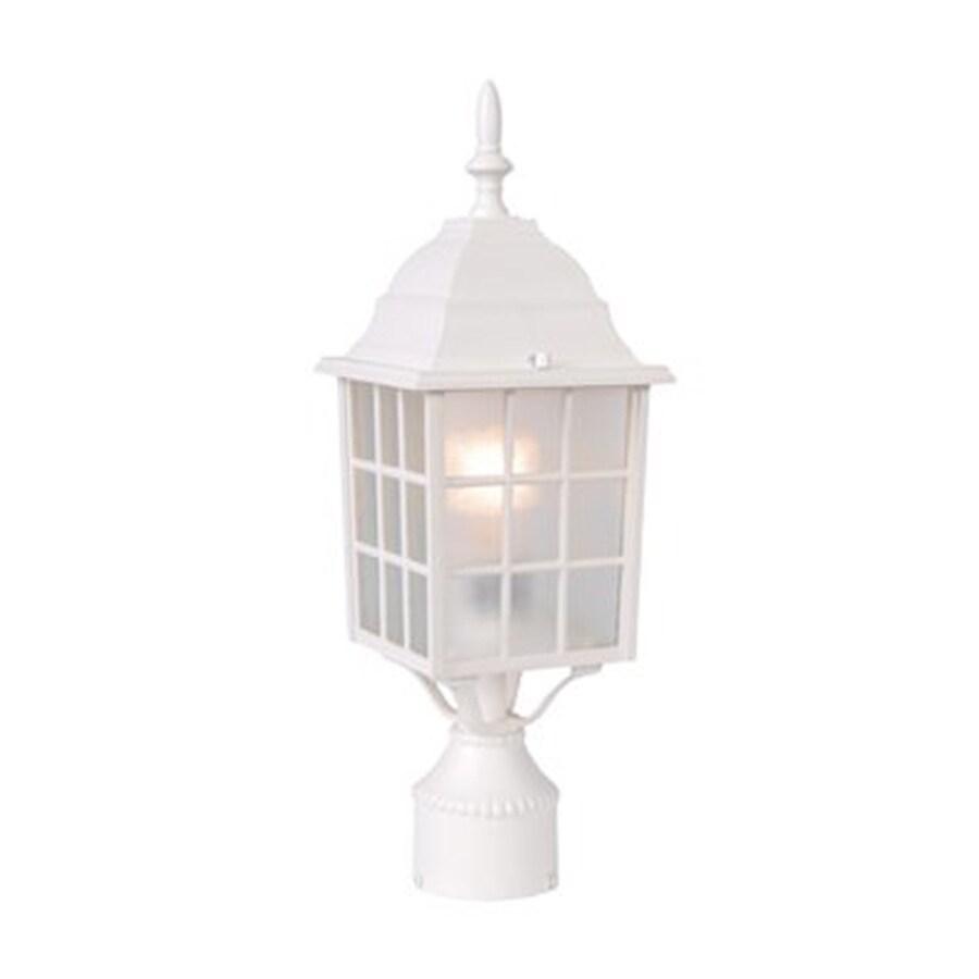 Acclaim Lighting Nautica 18-in H Textured White Post Light