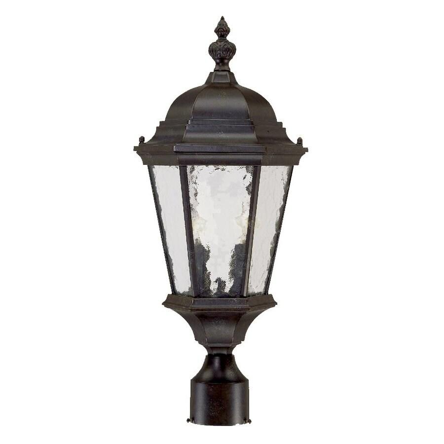 Acclaim Lighting Telfair 21.5-in H Marbleized Mahogany Post Light