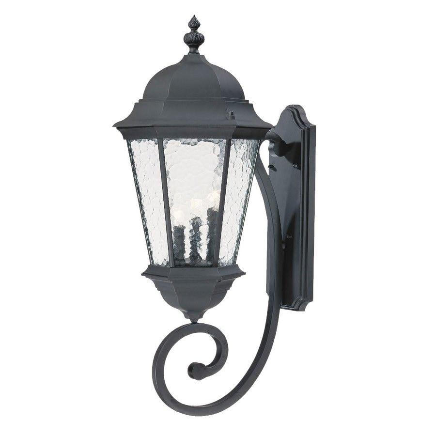 Acclaim Lighting Telfair 30.75-in H Matte Black Outdoor Wall Light