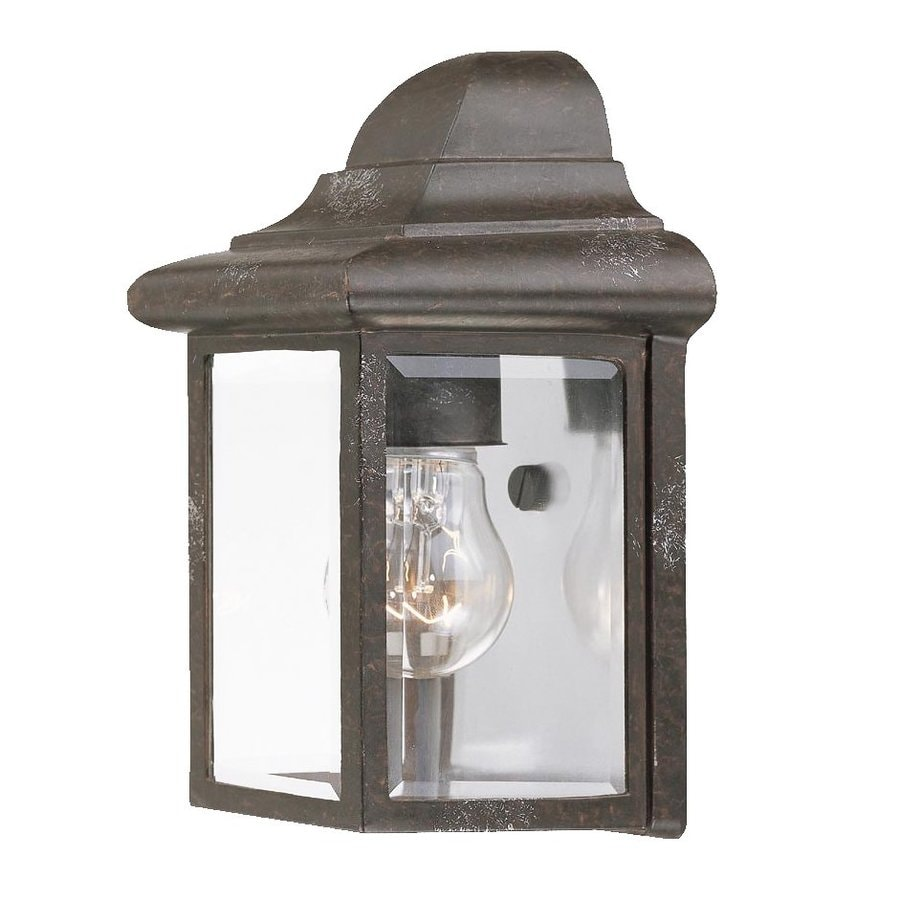 Acclaim Lighting 8.75-in H Marbleized Mahogany Outdoor Wall Light