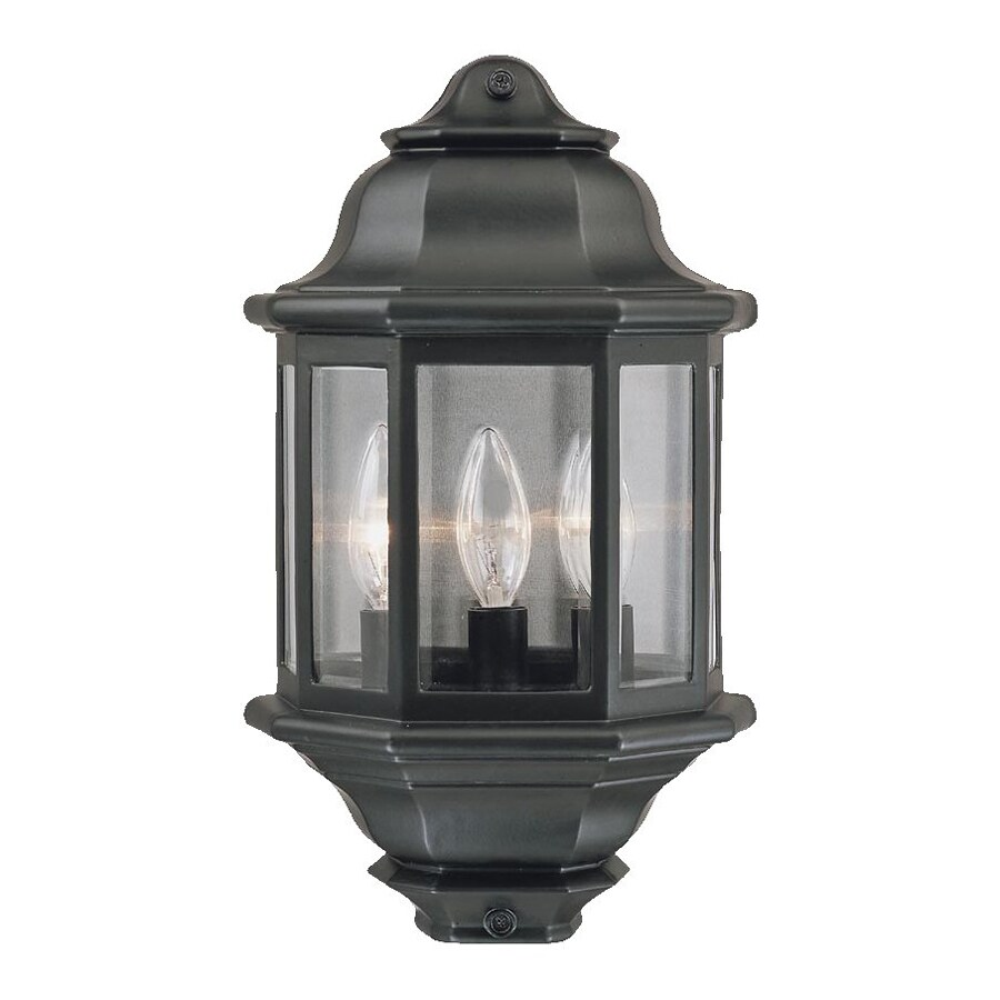 Acclaim Lighting 15-in H Matte Black Outdoor Wall Light