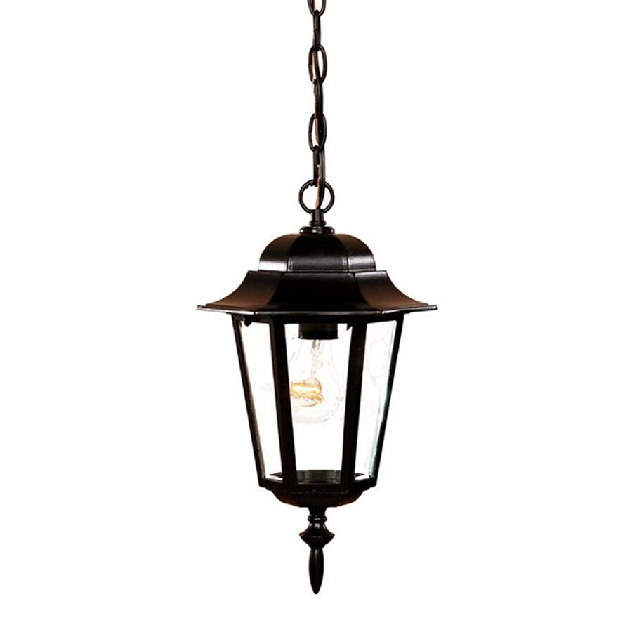 Acclaim Lighting Camelot 15.25-in H Black Outdoor Pendant Light