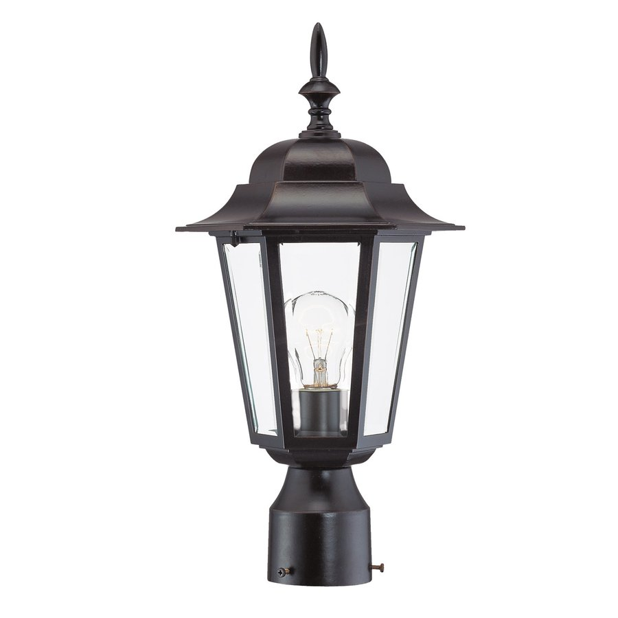 Acclaim Lighting Camelot 17.25-in H Architectural Bronze Post Light