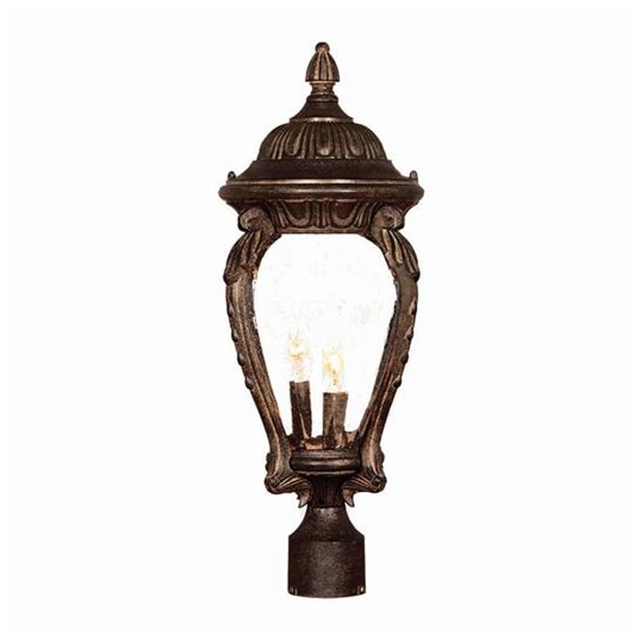 Acclaim Lighting Nottingham 23-in H Black Coral Post Light