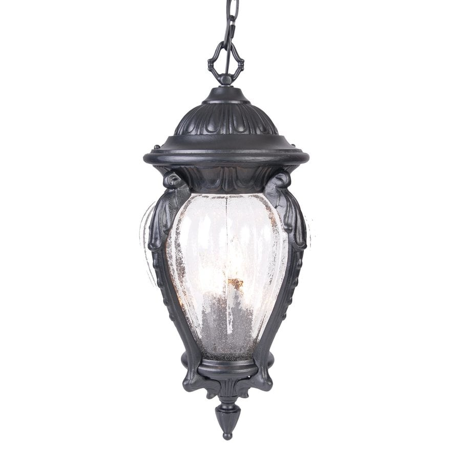 Acclaim Lighting Nottingham 28.5-in H Black Outdoor Pendant Light