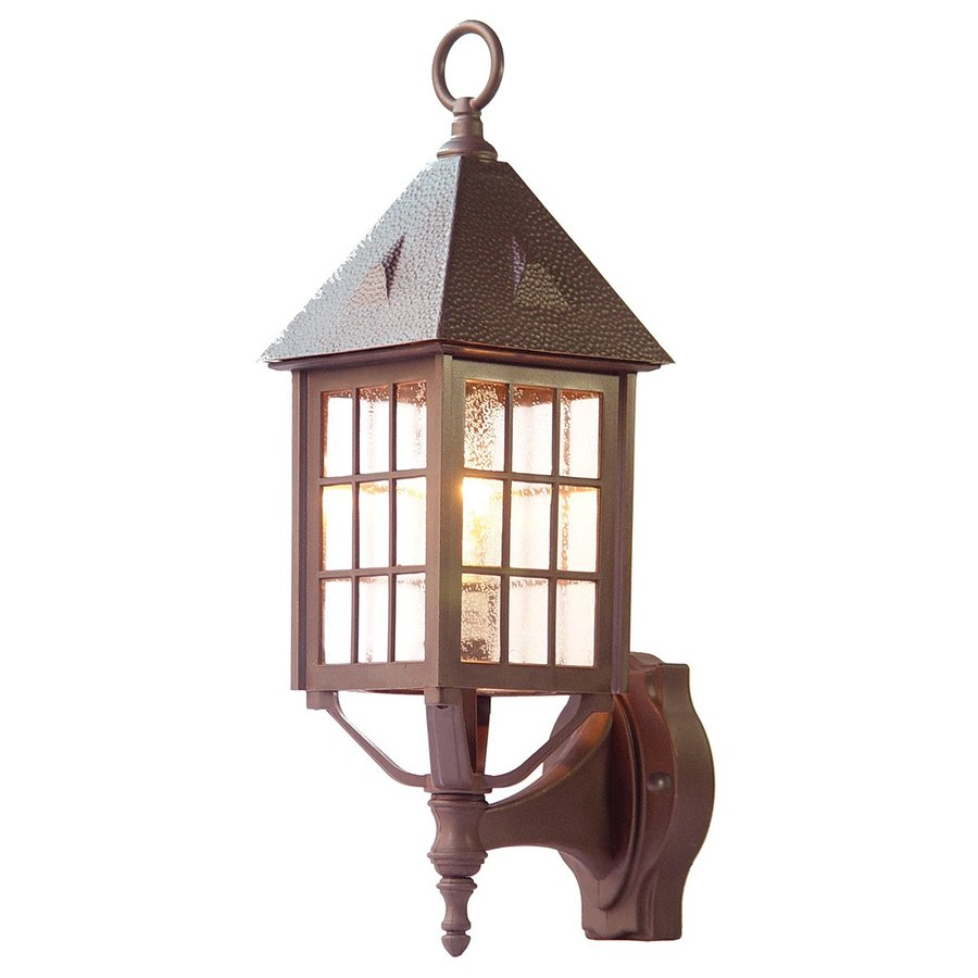 Acclaim Lighting Outer Banks 20-in H Architectural Bronze Outdoor Wall Light