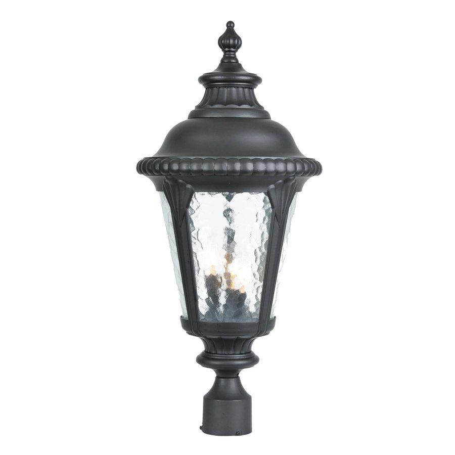 Acclaim Lighting Surrey 26.5-in H Matte Black Post Light