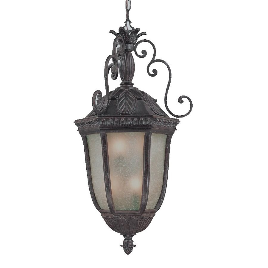 Acclaim Lighting Renaissance 40-in Mahogany Hardwired Outdoor Pendant Light