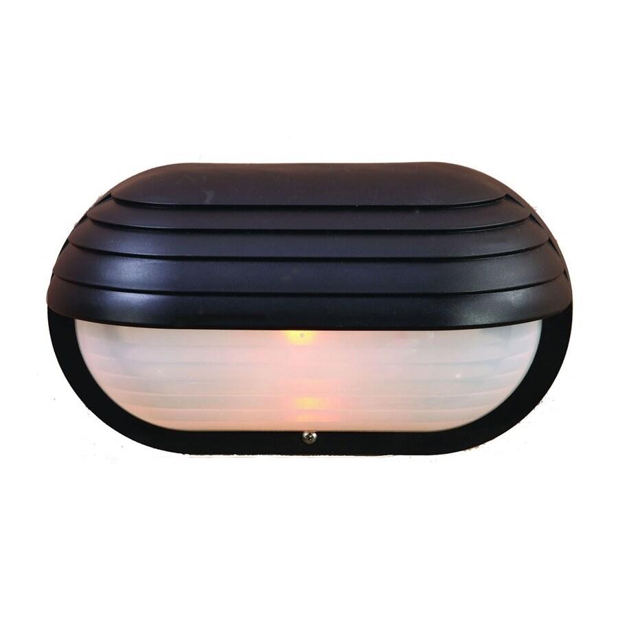 Acclaim Lighting Mariner 6-in H Matte Black Outdoor Wall Light