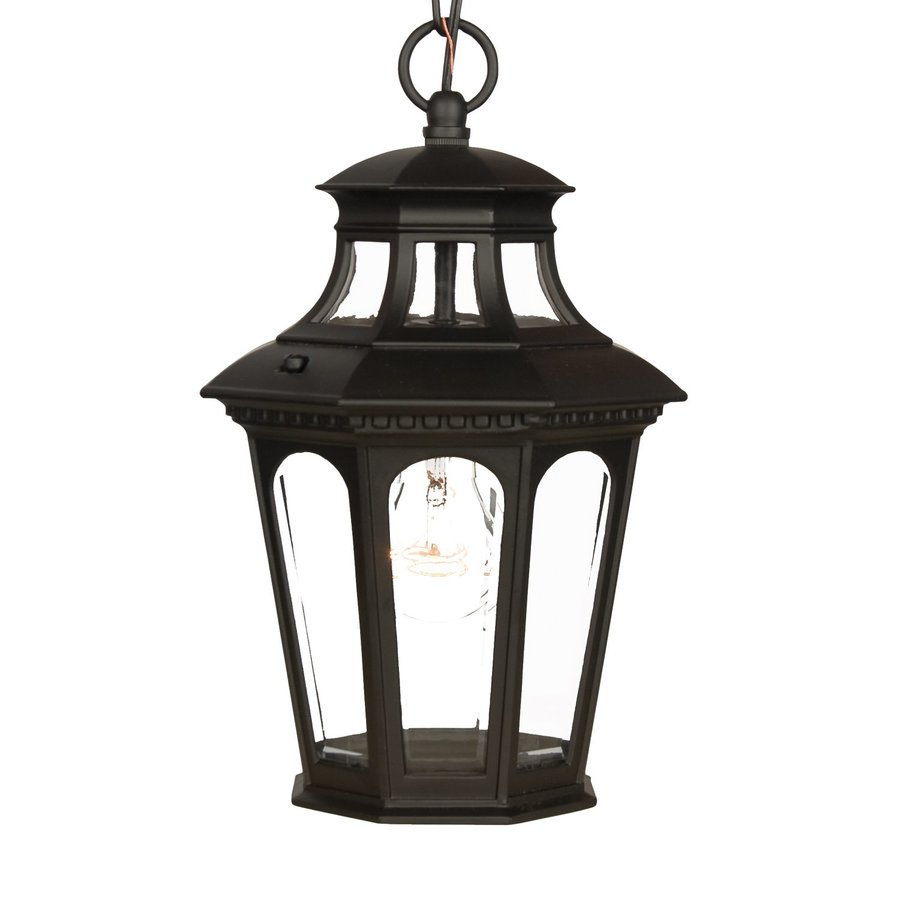 Acclaim Lighting Newcastle 13.75-in H Black Outdoor Pendant Light
