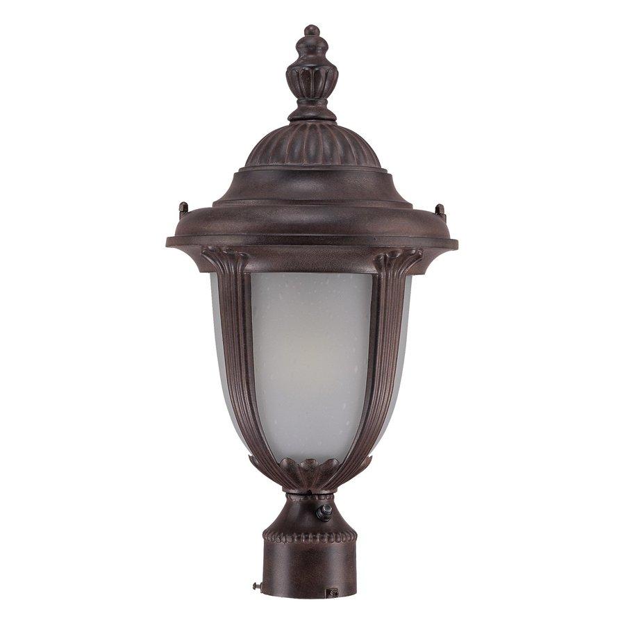 Acclaim Lighting Monterey 19.5-in H Burled Walnut Post Light