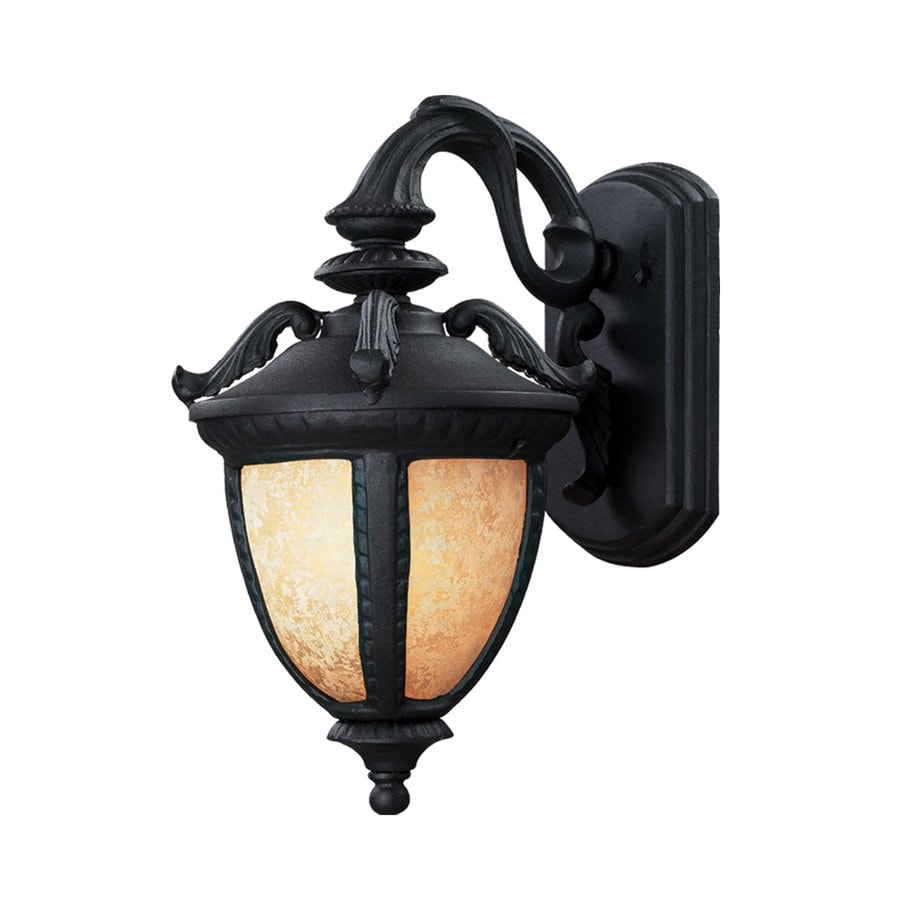 Z-Lite Winchester 13-in H Black Outdoor Wall Light