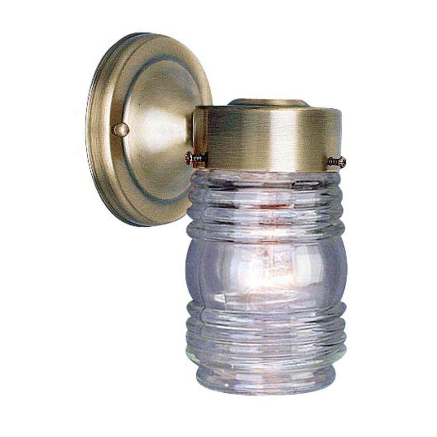 shop volume international jelly jar 7 in h antique brass. Black Bedroom Furniture Sets. Home Design Ideas
