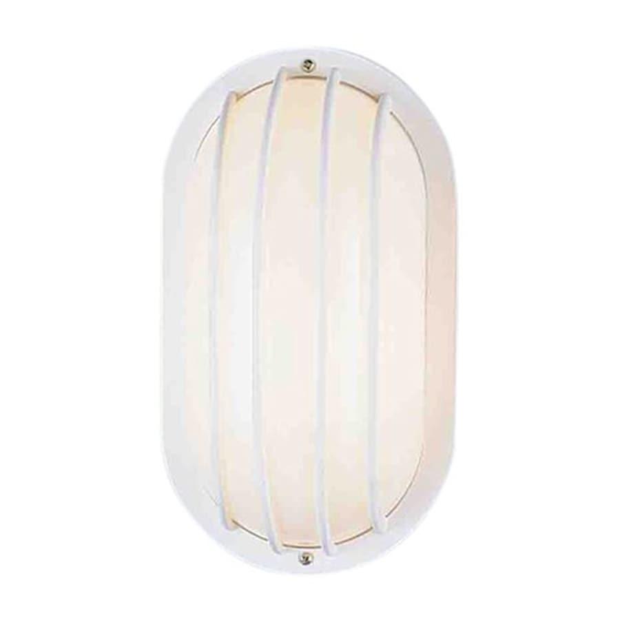 Volume International 10.5-in H White Outdoor Wall Light