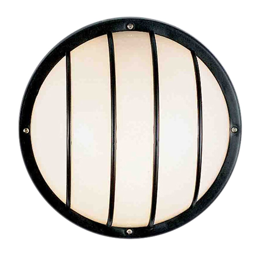 Volume International 10.25-in H Black Outdoor Wall Light