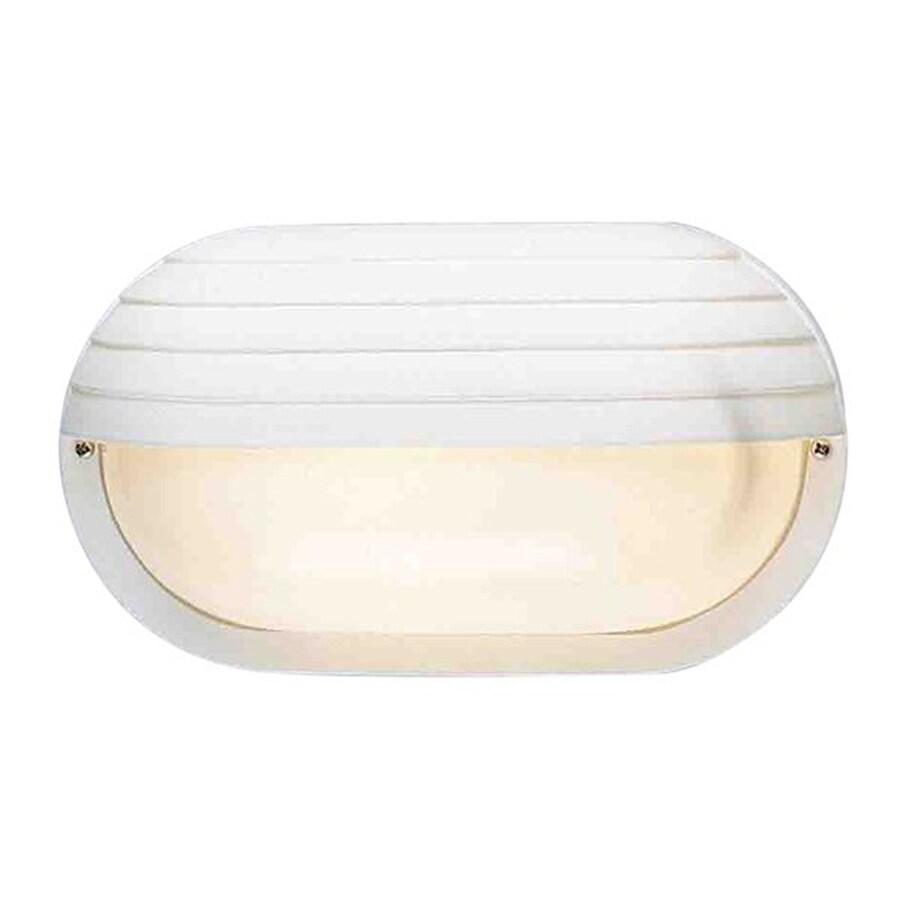 Volume International 6-in H White Outdoor Wall Light
