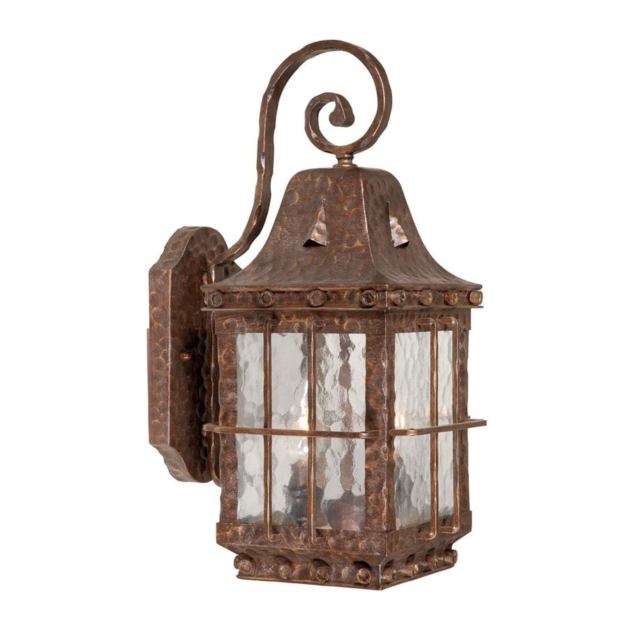 Shop cascadia lighting edinburgh 18 in h colonial iron for Outdoor colonial lighting