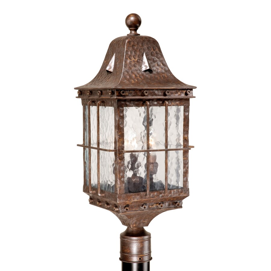 Cascadia Lighting Edinburgh 25-in H Colonial Iron Post Light