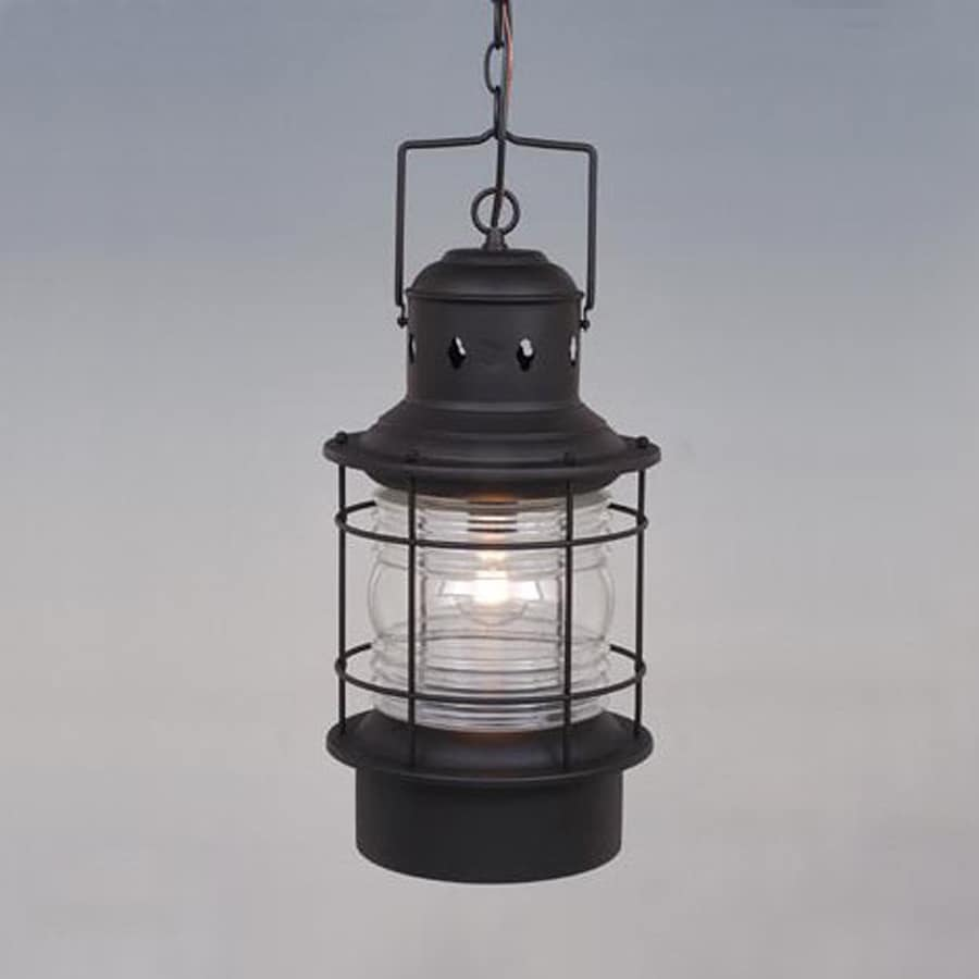 Shop Cascadia Lighting Nautical 22-in Textured Black