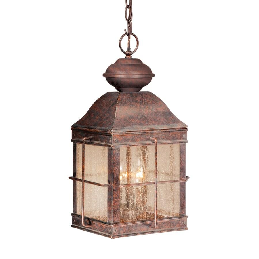 Cascadia Lighting Revere 17-in Royal Bronze Hardwired Outdoor Pendant Light