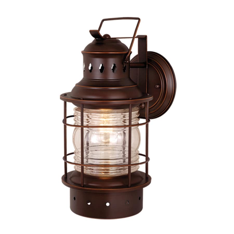 Shop Cascadia Lighting Nautical 18-in H Burnished Bronze