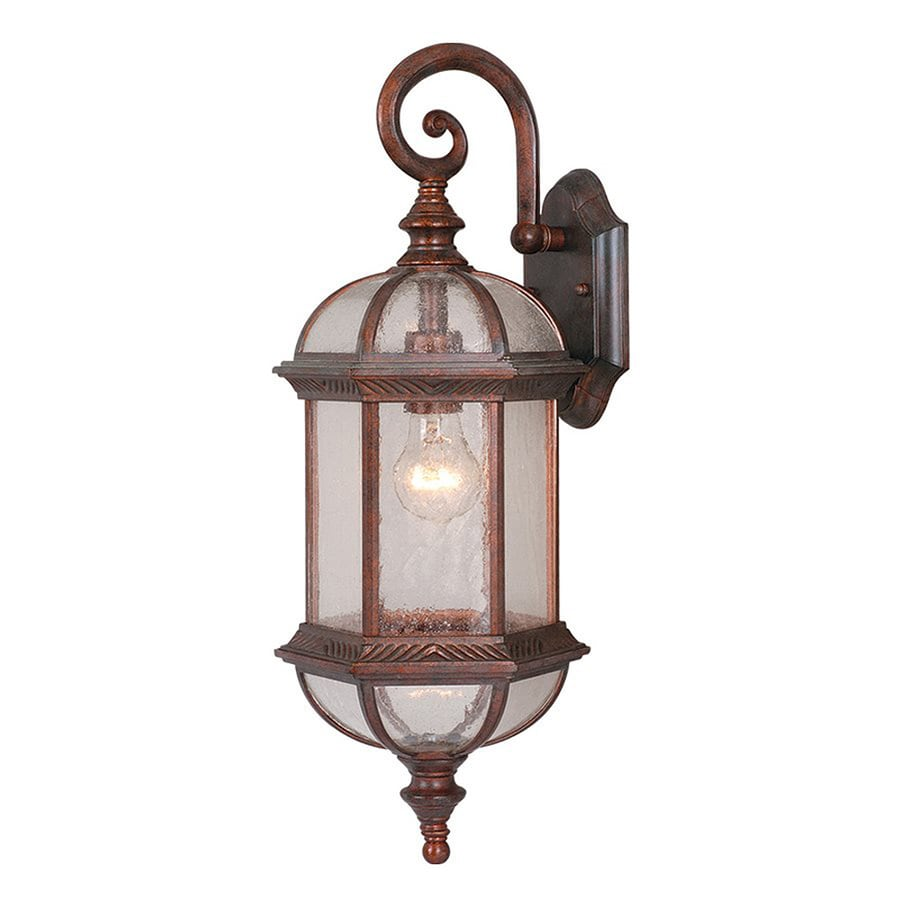 Cascadia Lighting Chateau 21.5-in H Royal Bronze Outdoor Wall Light