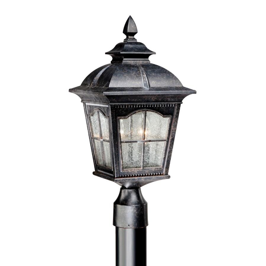 Cascadia Lighting Arcadia 19.5-in H Burnished Patina Post Light