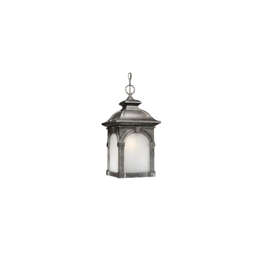 Cascadia Lighting Essex 18-in H Lava Stone Outdoor Pendant Light ENERGY STAR