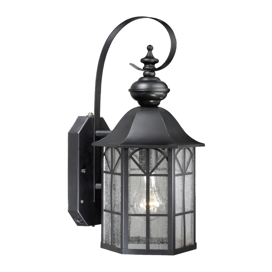 Shop Cascadia Lighting H Oil Rubbed Bronze Motion Activated Outdoor Wall Light At