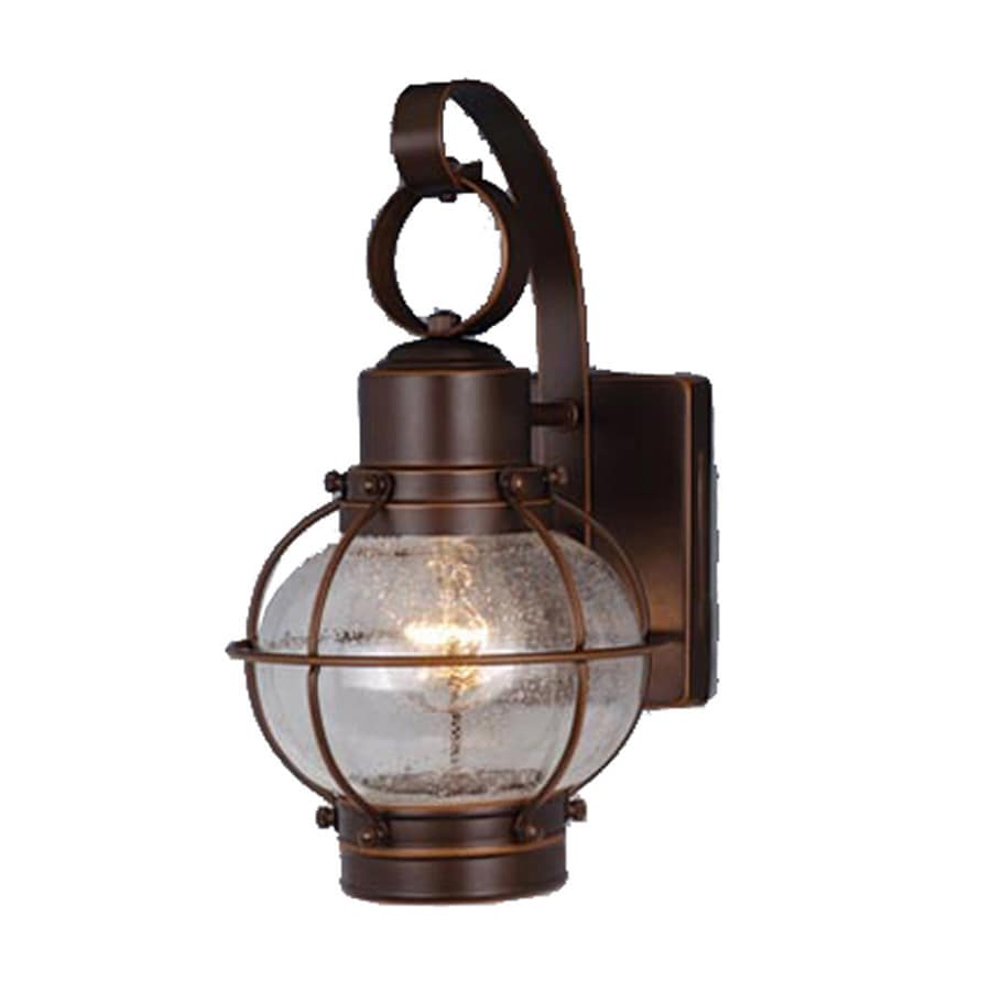Shop Cascadia Lighting Nautical 12-in H Burnished Bronze