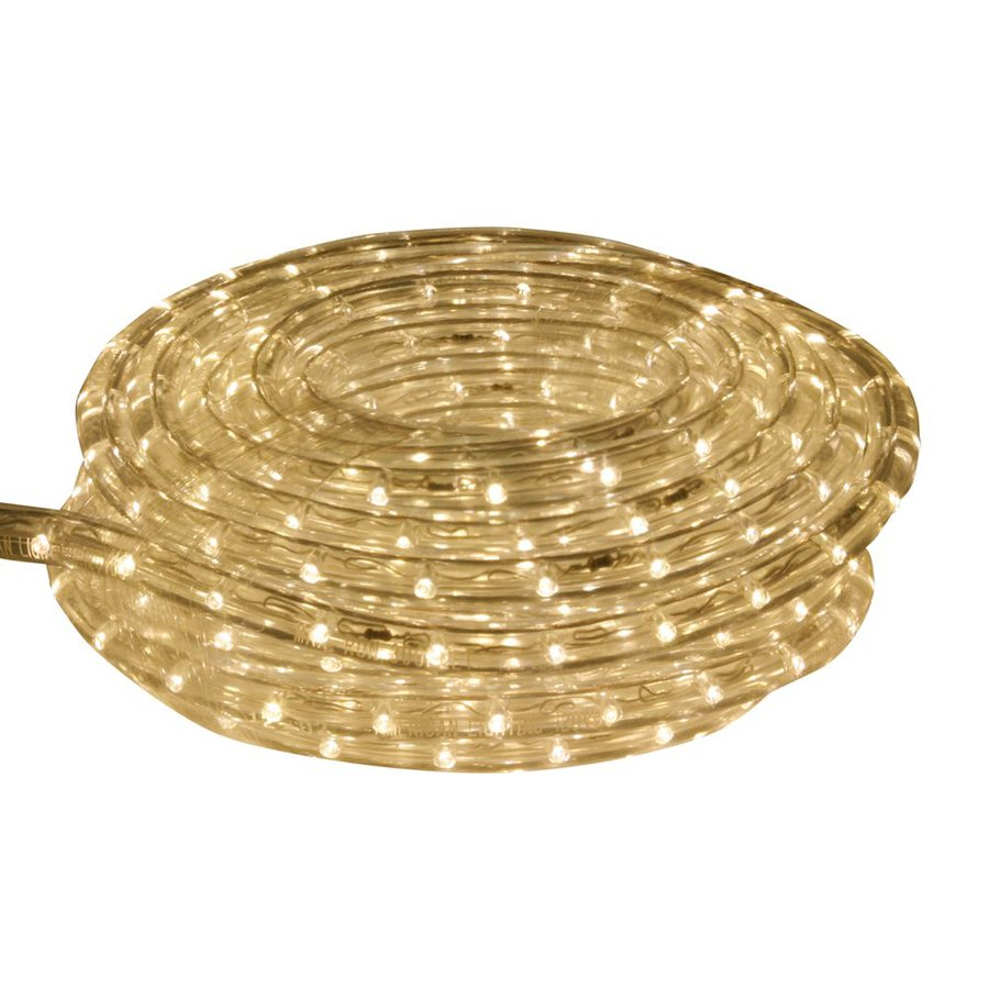 Shop Cascadia Lighting Ultra Warm White LED Rope Light (Actual: 9 Feet) at Lowes.com