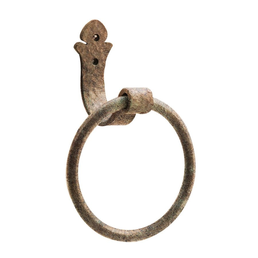 Artesano Iron Works Antique Copper Wall-Mount Towel Ring