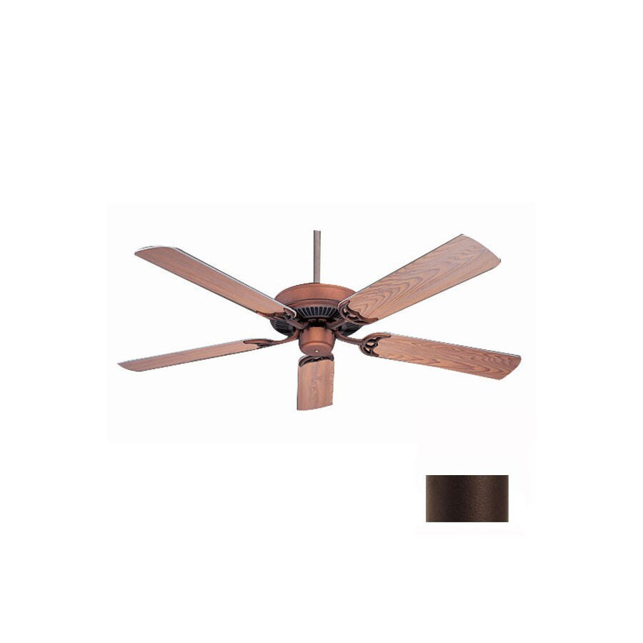 Nicor Lighting 52-in Masterbuilder Bronze Ceiling Fan ENERGY STAR