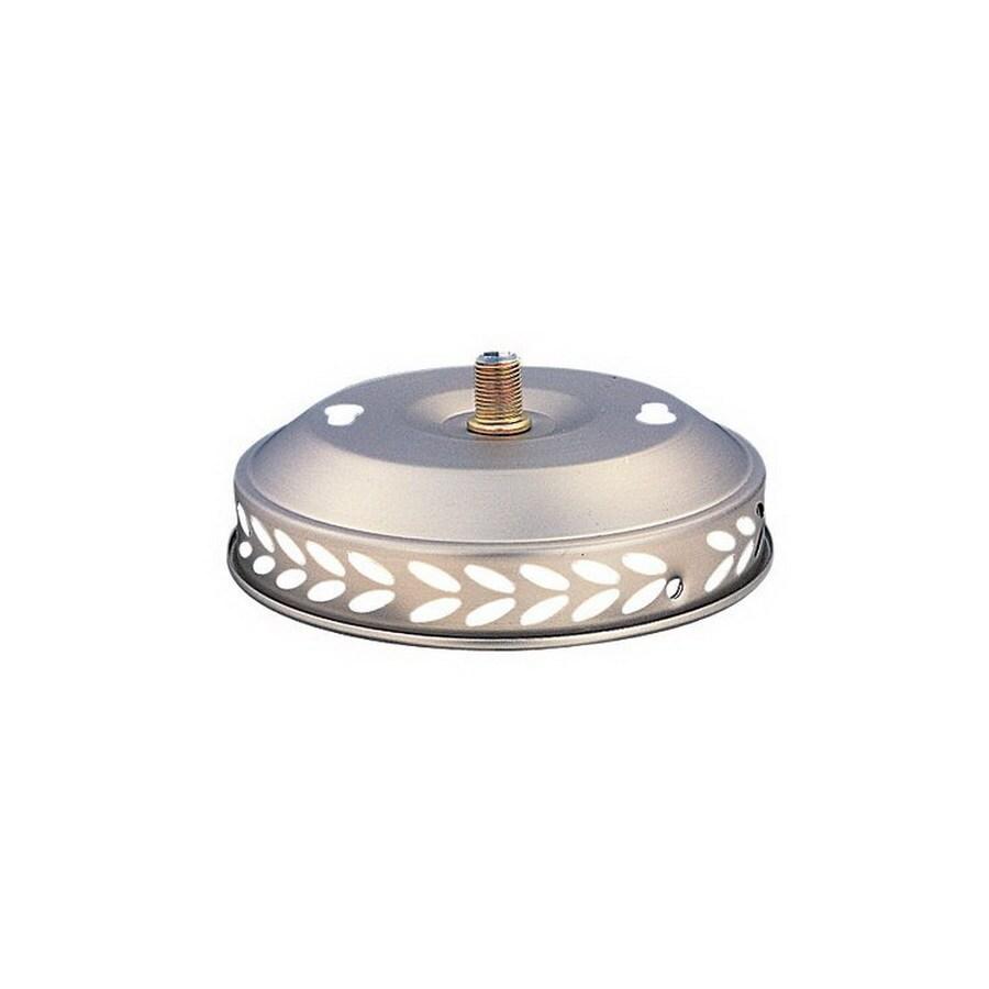 Nicor Lighting 1-Light Brushed Pewter Ceiling Fan Light Kit