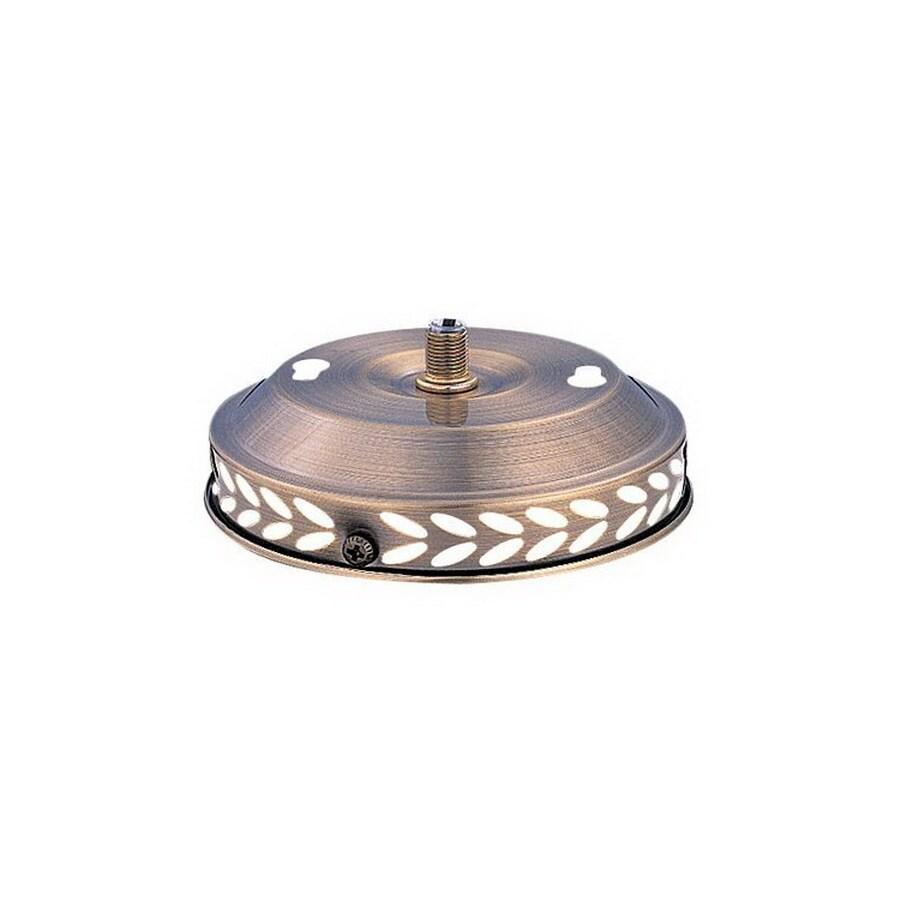 Nicor Lighting 1-Light Sienna Wash Ceiling Fan Light Kit