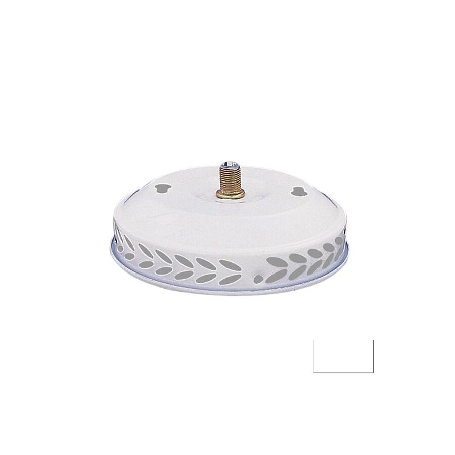 Nicor Lighting 1-Light White Ceiling Fan Light Kit