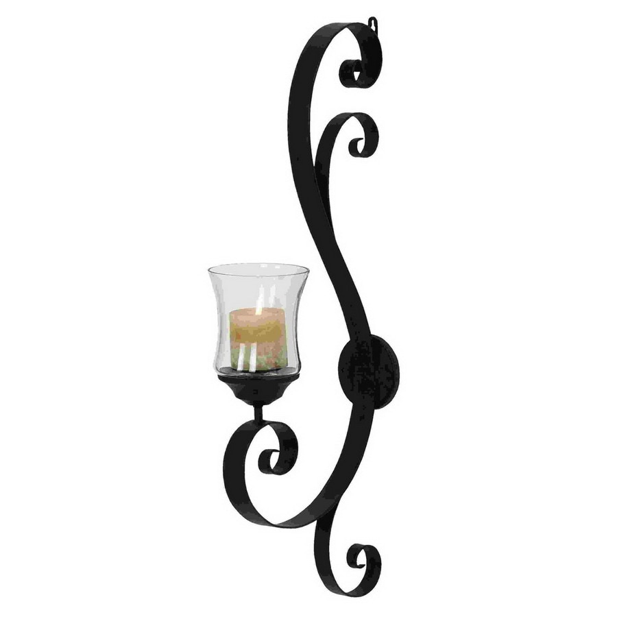 Woodland Imports Metal Sconce Candle Holder