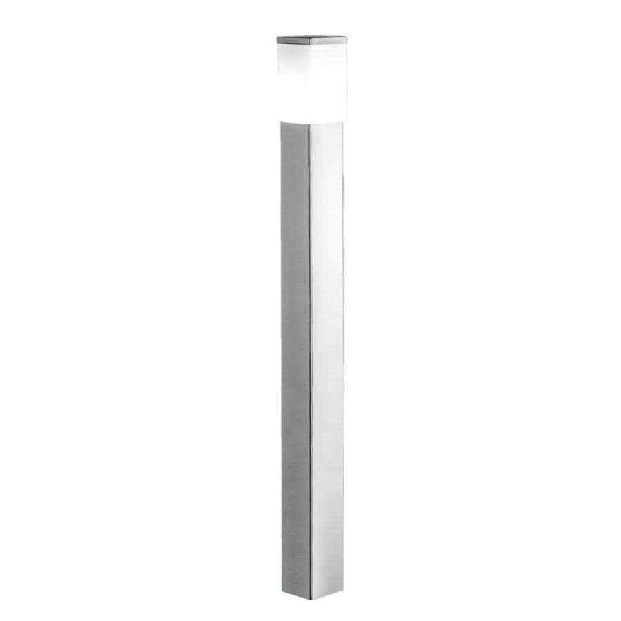 EGLO Calgary 43-in H Stainless Steel Post Light