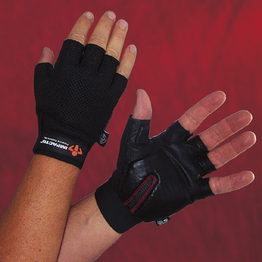 Impacto Medium Unisex Leather Palm Work Gloves