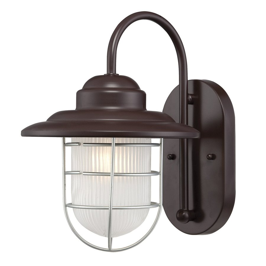 Millennium Lighting R Series 11.5-in H Architectural Bronze Outdoor Wall Light
