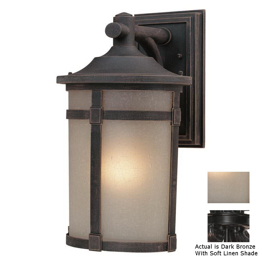 Artcraft Lighting St. Moritz 19.25-in H Dark Bronze Outdoor Wall Light