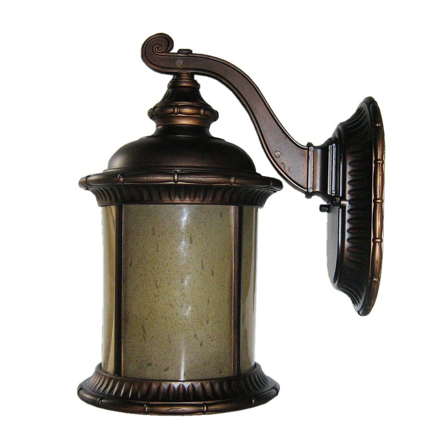 Shop Whitfield Lighting 16 In H Oil Rubbed Bronze Outdoor Wall Light At