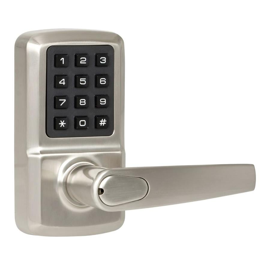 Shop The Delaney Company Digital Lock Satin Nickel