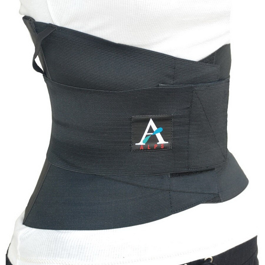 Alps South Black XL Back Brace
