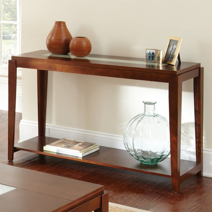 Steve Silver Company Ice Cherry Rectangular Console and Sofa Table